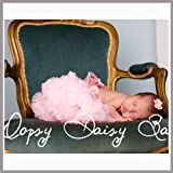 Oopsy Daisy Solid Pink Baby Infant Pettiskirt. Baby Photo Props. (Size 6-12m)