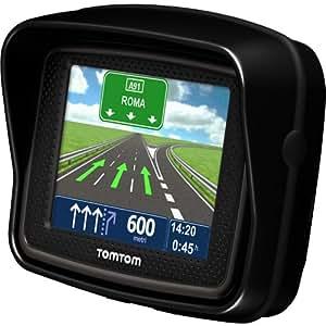 TomTom Rider Pro - GPS para coches de 3.5 pulgadas, color negro