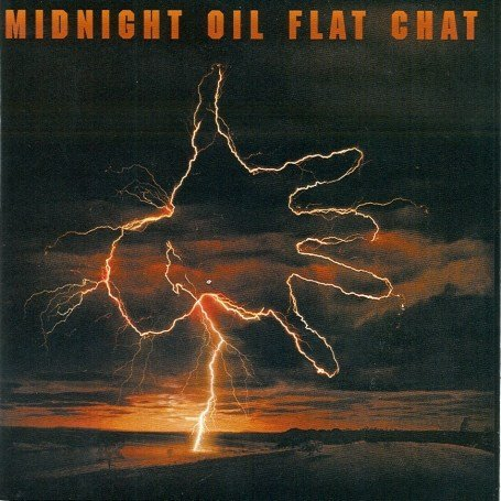 Original album cover of Flat Chat by Midnight Oil
