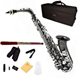 Cecilio AS-280BNN Saxophone Alto MiB Noir/Nickel