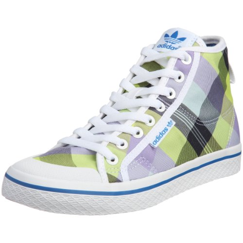 Adidas Women's Honey Mid Top Multicolour Trainers 6 UK