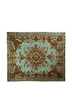 CarpeTrade Alfombra Deluxe Persian Vintage (Azul/Multicolor)