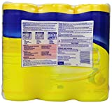 Lysol Disinfecting Wipes Value Pack, Lemon and Lime Blossom, 35 Count Canister, Pack of 3