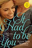 It Had to Be You (Christiansen Family Book 2)