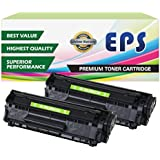 2 Pack EPS Replacement Canon 104 Toner Cartridges