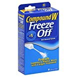 Compound W Freeze Off Wart Removal System, 8 applications