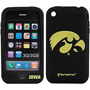 Iowa Hawkeyes Black Mascotz iPhone 3G/3GS Silicone Case