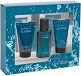 Davidoff Cool Water Eau de Toilette 125 ml/ Aftershave Balm 75 ml/ Shower Gel Gift Set for Him 75 ml