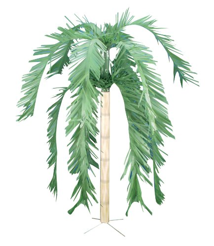 Forum Novelties Hawaiian Luau Palm Tree Decoration