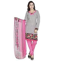 Egale Buzz Women's Silk Cotton Unstitched Dress Material (Multi-color)