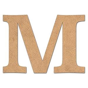 Detalles Infantiles - Letra madera manualidades 10cm M  Bebé Comentarios de clientes y más información