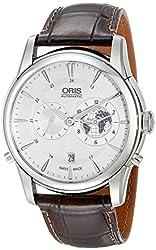 Oris Men's 69076904081LS2 Analog Display Swiss Automatic Brown Watch