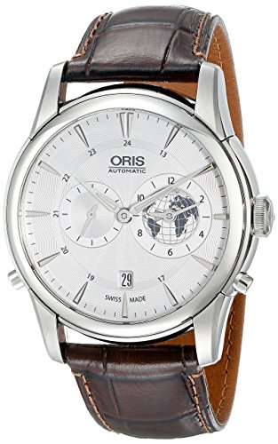 Oris-Mens-69076904081LS2-Analog-Display-Swiss-Automatic-Brown-Watch