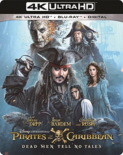 4K Blu-ray : Pirates Of The Caribbean: Dead Men Tell No Tales (With Blu-Ray, 4K Mastering, Digitally Mastered in HD, 2 Disc)