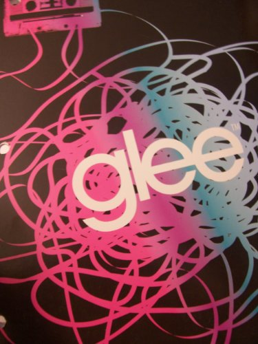 Glee College Ruled Spiral Notebook ~ Music Mix - 1