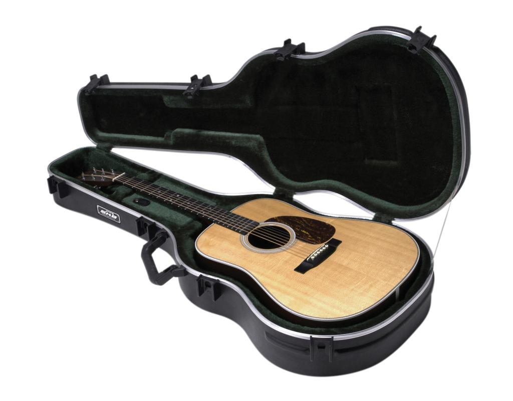skb 18 acoustic guitar case standard dreadnought size musical instruments. Black Bedroom Furniture Sets. Home Design Ideas