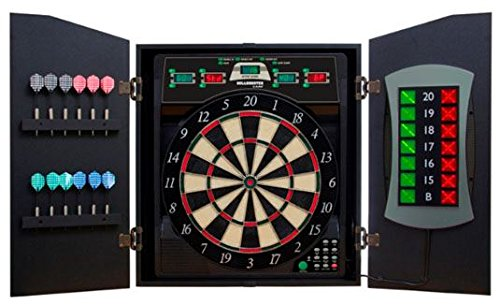 Free 50 Ct. L-Style Tips - Bullshooter By Arachnid Cricketmaxx 5.0 Electronic Dartboard Cmx-5000 Electronic Steel Tip Bristle Dart Board - Dart Brokers