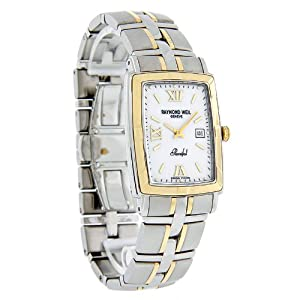 Raymond Weil Men's 9340-STG-00307 Parsifal White Textured Dial Watch