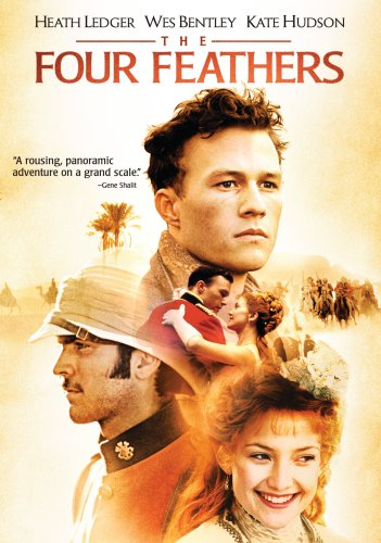Amazon.com: The Four Feathers: Amazon com The Four Feathers Heath Ledger Wes Bentley Kate 351x500 Movie-index.com