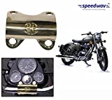 Speedwav Brass Bike Handle Joint Clip-Royal Enfield Battle Green