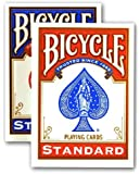 2 New & Sealed Decks of Bicycle Playing Cards - 1 Red & 1 Blue