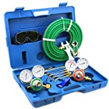 """XtremepowerUS """"Victor"""" Type Oxy Acetylene Welding Cutting Torch Kit"""