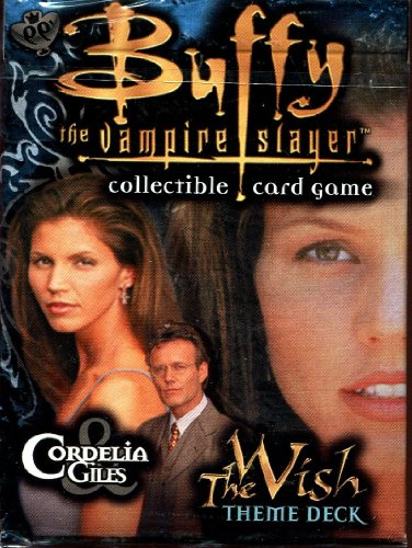Buffy the Vampire Slayer Card Game Class of 99 The Wish Theme Deck Cordelia Giles - 1