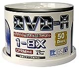 ZERO DVD-RCPRM対応4.7GB1回録画用ワイドプリンタブル1-8倍速スピンドルケース50枚入り ZCP8X50PW