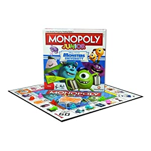 Monopoly Junior Monsters University Board Game
