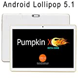 """2016 New 9.6"""" OctaCore Tablet Phone with Android Lollipop 5.1-IPS 1280x800 Display, GPS, Bluetooth, DUAL SIM, Unlocked worldwide -WHITE video review"""
