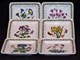Portmeirion Botanic Garden Square Bread & Butter Plates-Set(s) Of 6