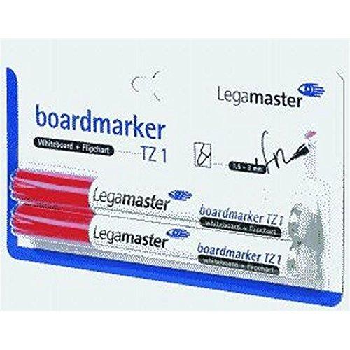 Legamaster marqueur pour tableau tZ 1, 5-3 1, mm, rechargeable, emballage blister de 2