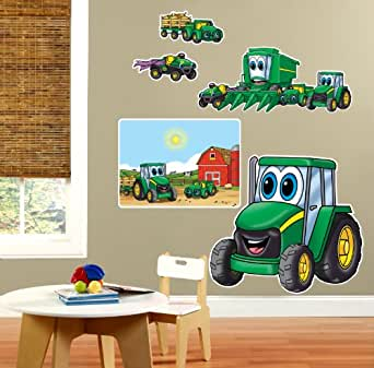 Johnny Tractor Giant Wall Decals