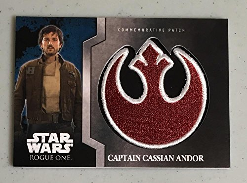 MultiSport MultiSport 2016 Topps Star Wars Rogue One Commemorative Patch #10 Captain Cassian Andor N