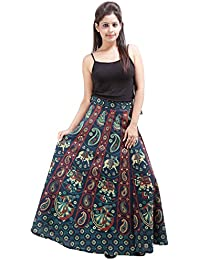 Jaipur Skirt Women's Cotton Wrap Skirt - B01F5OIBDS