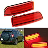 Ronben 2X LED light Guide Rear Bumper light Fog lamp lights For Toyota RAV-4 (2006-12)