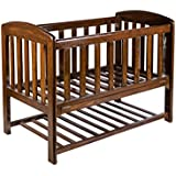 Teak Wood Baby Crib / Baby Cot / Baby Bed With Mattress.