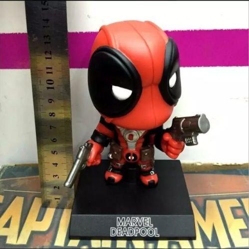 Deadpool Action Figure Marvel X Men Legends Universe Bobble Head New Red Toy Box