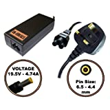 UK-EDEALS - Top Quality Charger replacemnet for 90W SONY VAIO VGP-AC19V42 VGN-CS11S/W VGN-NR32M LAPTOP CHARGER AC ADAPTER Ordinateur portable Adaptateurs Chargeur Pour with LEAD POWER CORD CABLE