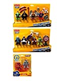 Fisher Price Imaginext Super Friends Action Figures Play Set: Dc Super Heroes, Dc Super Villains With Justice...