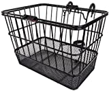 Search : Sunlite Mesh Bottom Bicycle Lift Off Basket, Black