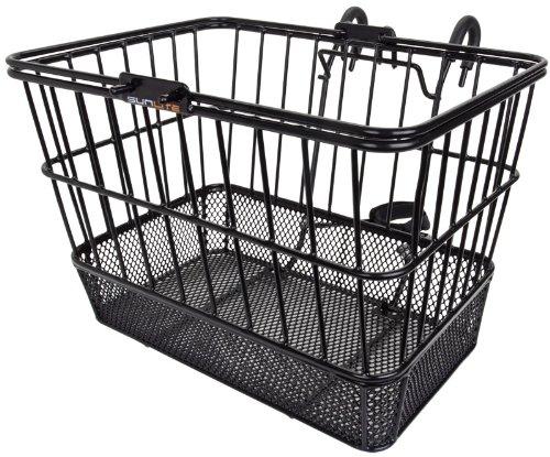 Sunlite Mesh Bottom Bicycle Lift Off Basket, Black