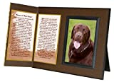 Dog Lover Remembrance Gift, Best Friend Poem, Memorial Pet Loss Picture Frame Keepsake and Sympathy Gift Package, with optional custom photo editing