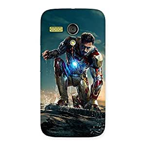 Delighted Ready to Sky Back Case Cover for Moto G