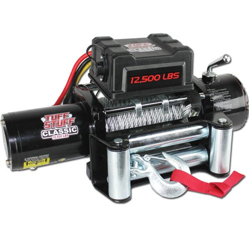 Lowest Price! Tuff Stuff Classic 12,500lb Recovery Trailer Winch