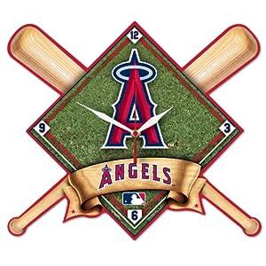MLB Anaheim Angels High Definition Clock by WinCraft