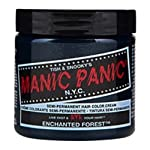 Tish & Snooky's Manic Panic NYC Manic Panic Semi Permanent Hair Dye Enchanted Forest Green