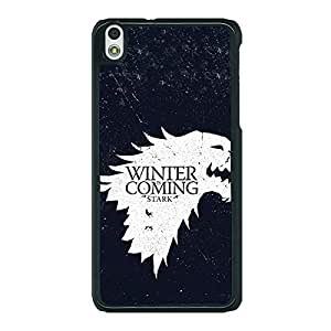 Jugaaduu Game Of Thrones GOT House Stark Back Cover Case For HTC Desire 816