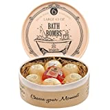 Bath Bombs Lush Gift Set with Bubble Bath Soap-6 Large Bath Fizzies-Perfect Christmas Gift for Her By Tortuga Life