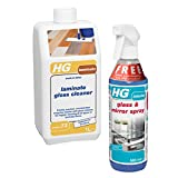 HG Laminate Gloss Cleaner with FREE HG Hagesan Glass and Mirror Spray